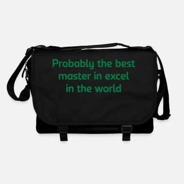 Master Probably the best master in excel in the - Shoulder Bag