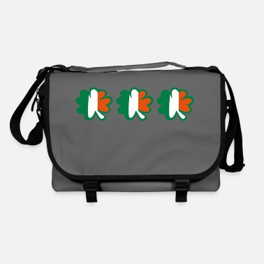 Best Awesome Superb Cool Amazing Identity Ethnicity Race People Language Country Design ♥ټ☘Kiss the Irish Shamrocks to Get Lucky☘ټ♥ - Shoulder Bag