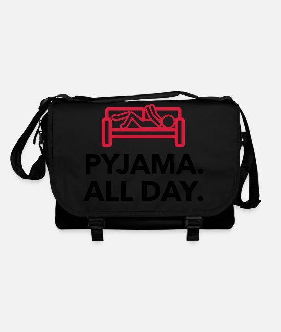 Bed Bags & Backpacks - Throughout the day in your pajamas! - Shoulder Bag black/black