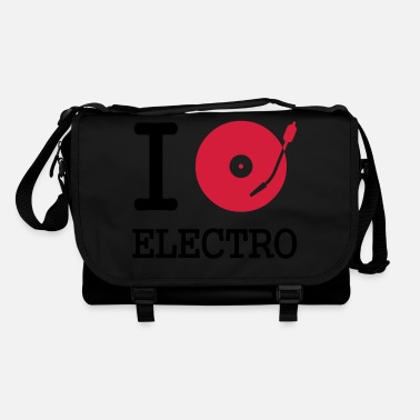 Club I dj / play / listen to electro - Shoulder Bag