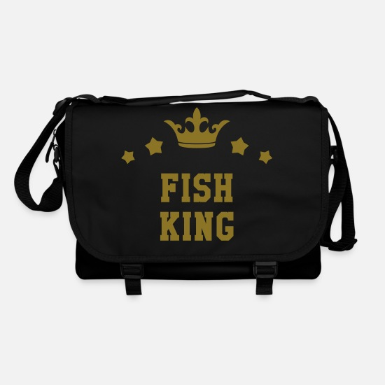 Boss Bags & Backpacks - Fishmonger / Fischhändler / Fish / Poissonnier - Shoulder Bag black/black