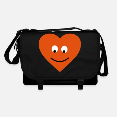 Daughter heart face - Shoulder Bag