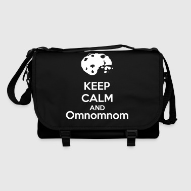 Keep Calm And Omnomnom - Bolso de bandolera