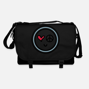Peace Baby Cute emotional face peace - Shoulder Bag