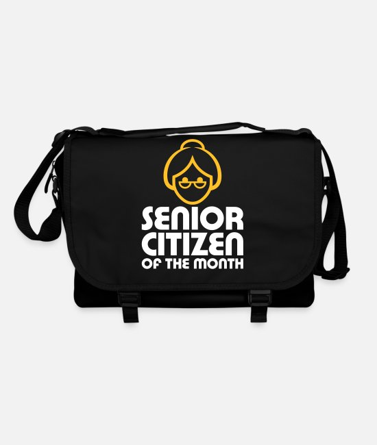 Father's Day Bags & Backpacks - Senior Of The Month - Shoulder Bag black/black
