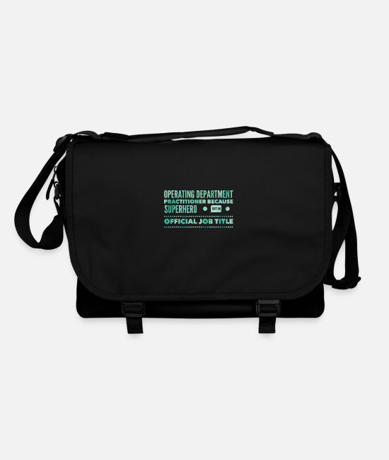 Operating Department Practice Bags & Backpacks - Superhero - Shoulder Bag black/black