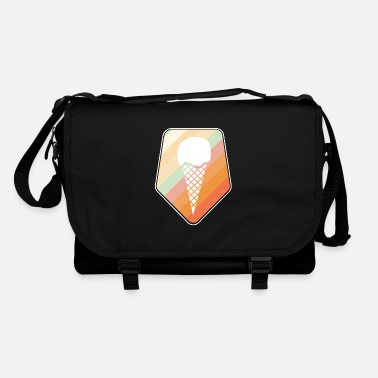 Ice-cream-cone ice cream cone - Shoulder Bag