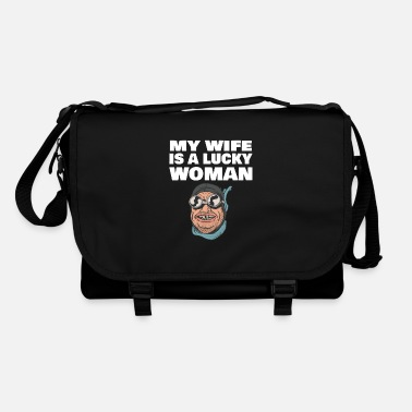 Funny Wife Funny wife wife saying for husband - Shoulder Bag