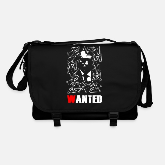 Gang Bags & Backpacks - WANTED - Shoulder Bag black/black