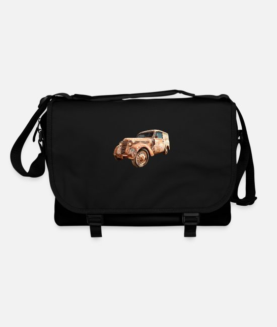 Nostalgic Bags & Backpacks - Oldtimer Transporter - Shoulder Bag black/black