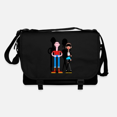 Girl Skinhead Couple - Shoulder Bag