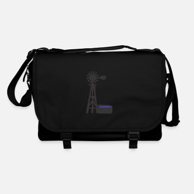 Windmill windmill windmill wind turbine windrad36 - Shoulder Bag