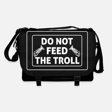 Geek Do Not Feed The Troll - Sac à bandoulière