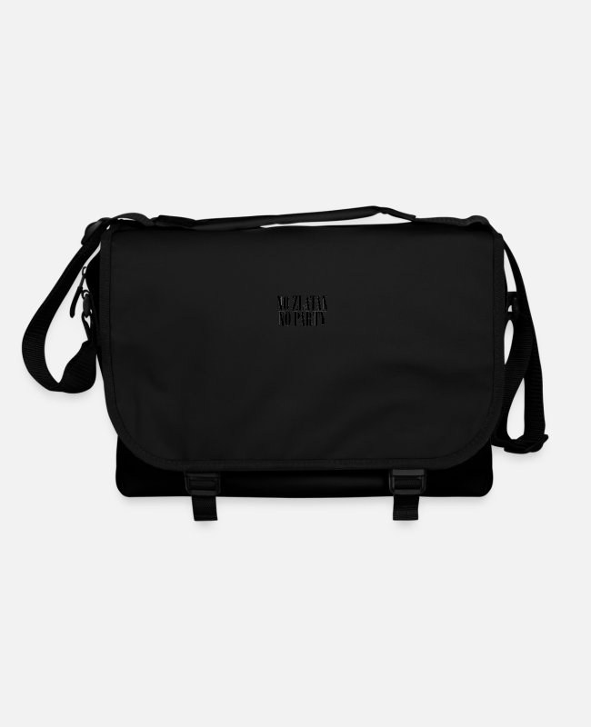 Sweden Bags & Backpacks - No Zlatan No Party - Shoulder Bag black/black