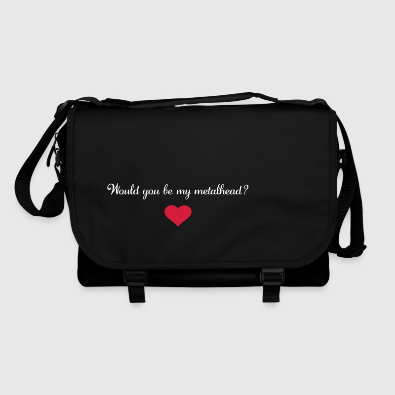 Would you be my metalhead? - Shoulder Bag