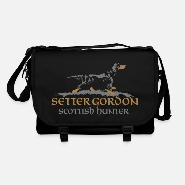 Hunting setter_gordon_scottish_hunter - Torba na ramię