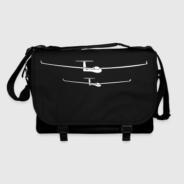 glider pilot tshirt - Shoulder Bag