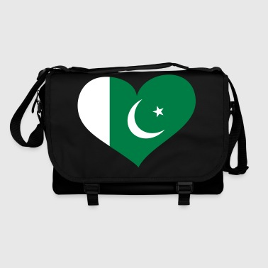 Pakistan Herz; Heart Pakistan - Shoulder Bag