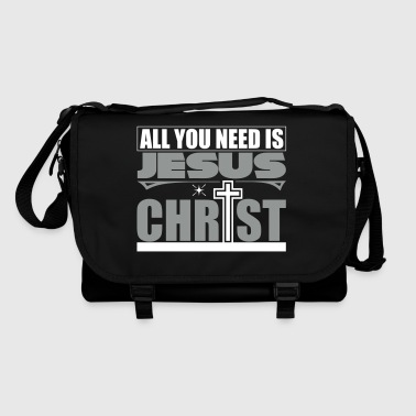 All you need is to love Jesus Christ - Shoulder Bag