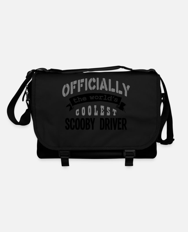 Pilot Bags & Backpacks - scooby driver officially the worlds cool - Shoulder Bag black/black