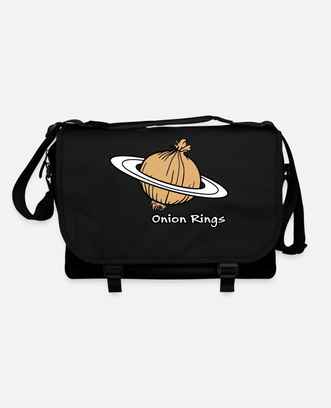 Space Bags & Backpacks - Onion Rings - The rings of onion planet - Shoulder Bag black/black
