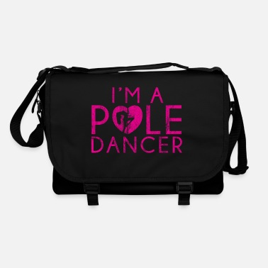 Pole Pole Dancer Poledance Shirt Gift Lap Dance - Borsa a tracolla