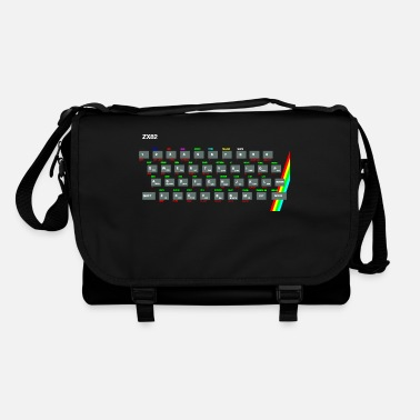 Computer ZX81 (Zed-Ex) Spectrum Keyboard - Shoulder Bag