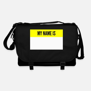 Name My name is My name is name tag - Shoulder Bag