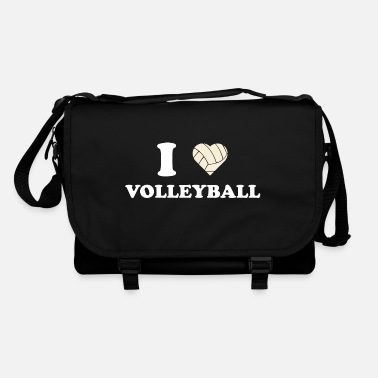 I Love Volleyball I love volleyball i love volleyball gift - Shoulder Bag