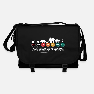 Rebellion Let's not take the road to extinction! - Shoulder Bag