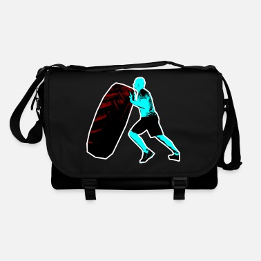 Tired Tire flipping - Shoulder Bag