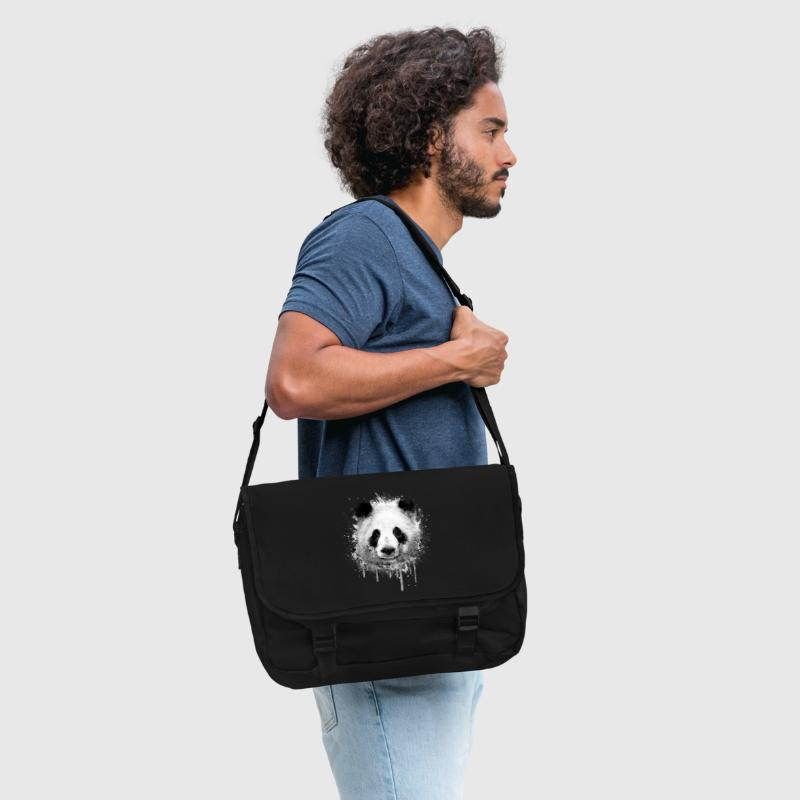 Cool Artistic Panda Portrait ( watercolor design) - Shoulder Bag