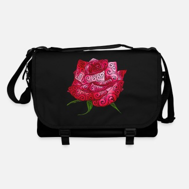 Tool Swirly Rose - Shoulder Bag