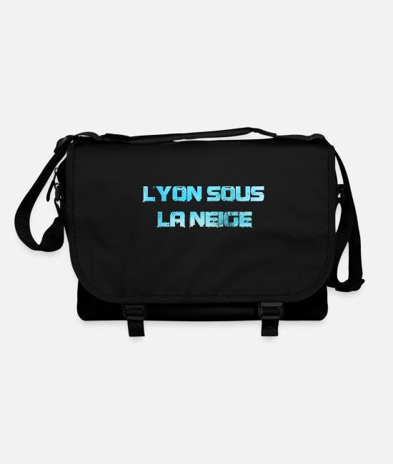 Lyon Bags & Backpacks - Lyon under the snow - Shoulder Bag black/black