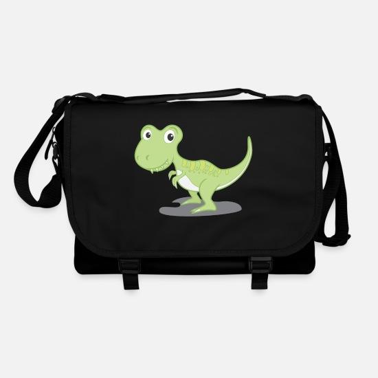 Dinos douces vertes cadeau idée dinosaure Sac bandoulière