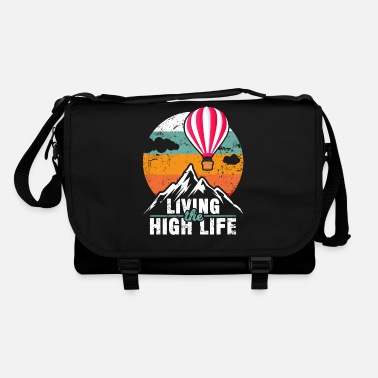 Gas Hot Air Balloon Balloon Ride Balloon Driver Gift - Shoulder Bag