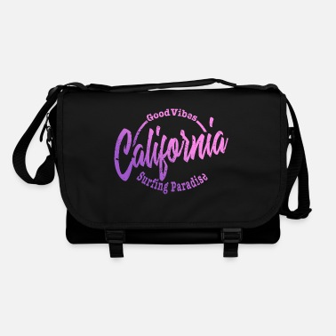 Modern California Good Vibes Surfing Paradise - Shoulder Bag