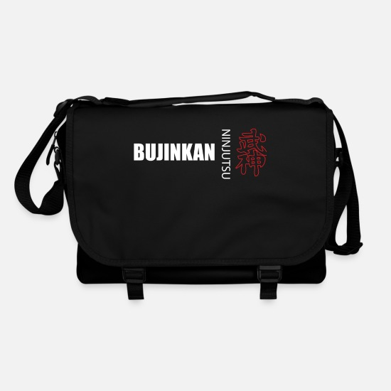 Ninjutsu Bags & Backpacks - bujinkan ninjutsu kanji - Shoulder Bag black/black