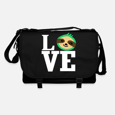 Animal Love Love love sloth animal love animal-loving animal lover - Shoulder Bag
