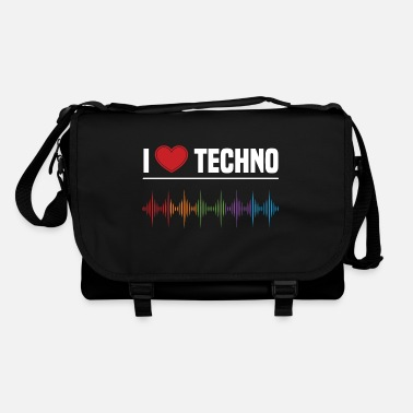 I Love Techno I love techno - Shoulder Bag