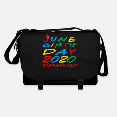 2020 June Birthday 2020 Quarantined birthday gift idea - Shoulder Bag