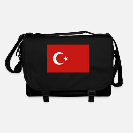 Turkey Bags & Backpacks - Turkey - Türkiye flag flag - Shoulder Bag black/black