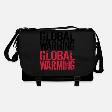 Global Global Advarsel - Global Warming - Skuldertaske