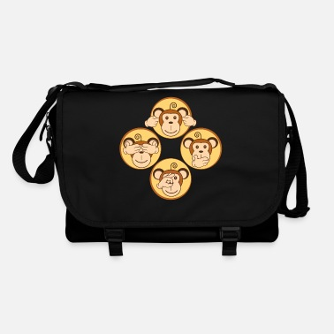the four wise monkeys - Borsa a tracolla