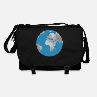 Silver Back World earth silver - Shoulder Bag