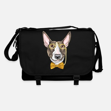 Monocle Dog with monocle - Shoulder Bag
