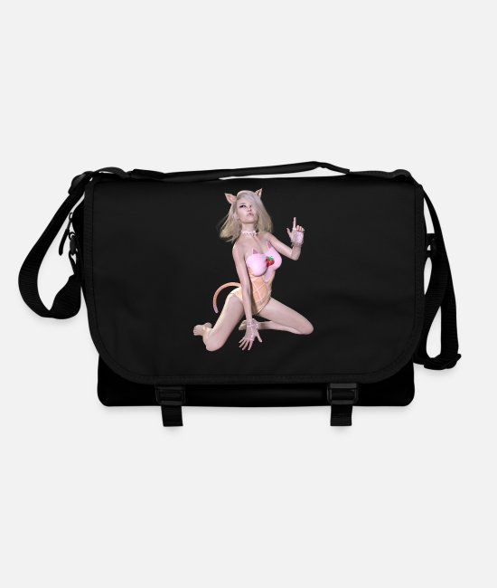 Attractive Bags & Backpacks - New burlesque, sexy woman - Shoulder Bag black/black