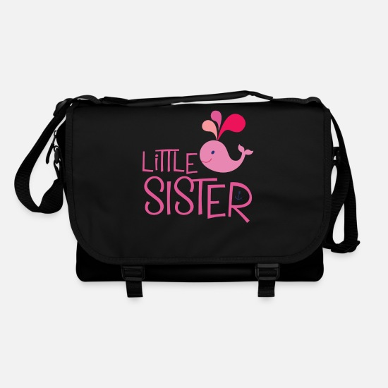 Little Sister Bags & Backpacks - Little Sister. Pink whale - Shoulder Bag black/black