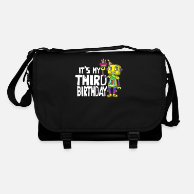 4th Birthday Children's shirt for birthday with funny motif - Shoulder Bag