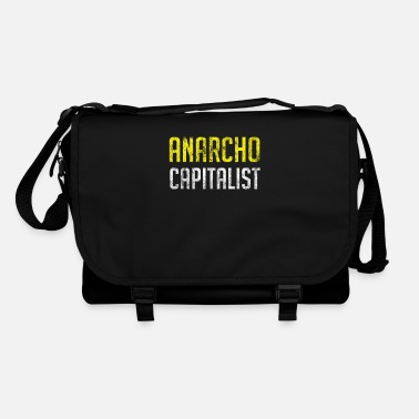 Market Anarchist Anarcho Capitalist Libertarian Anarchist - Shoulder Bag